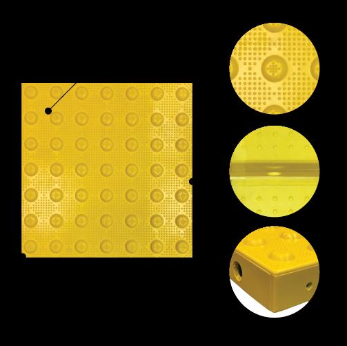 Cast in Place Transit Tiles