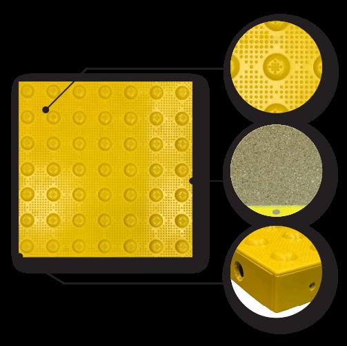 Modular Paver Transit Tiles