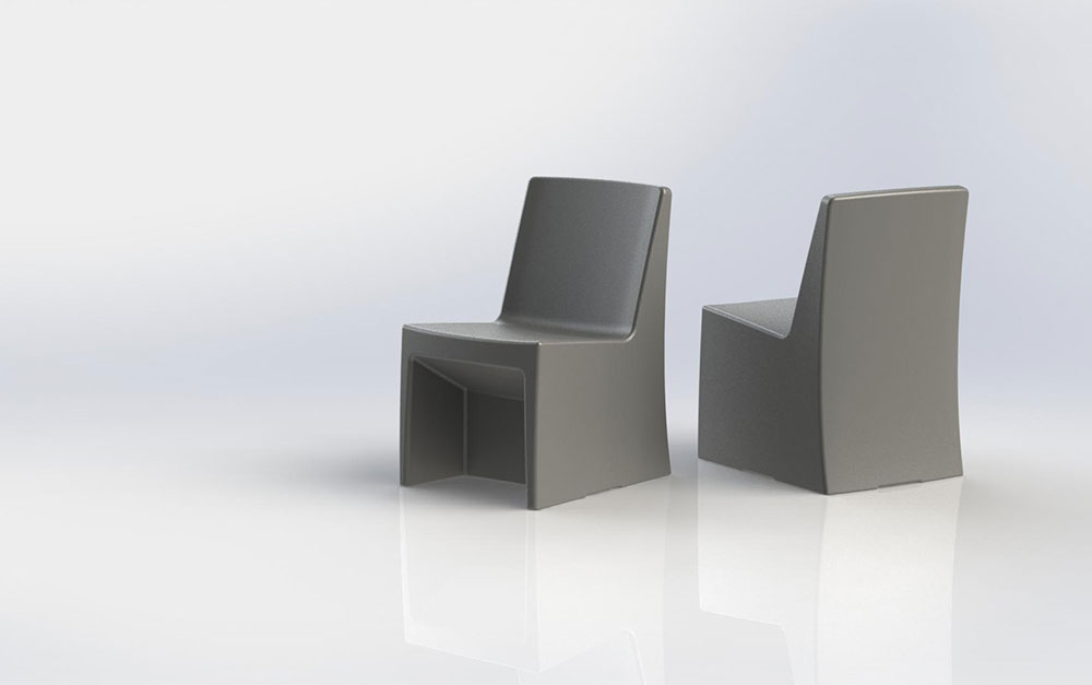 Estilo Armless Chair