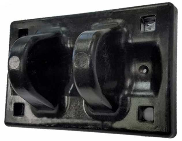 Reinforced Thermoset Hinge