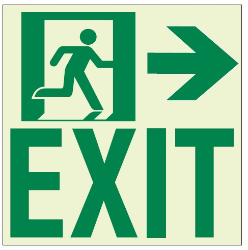 RAE2122-luminescent-wall-mounted-exit-to-right-path-marking-sign